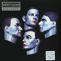 Kraftwerk - Techno Pop (Silver Vinyl) English Version [LP]