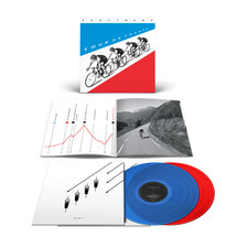 Kraftwerk - Tour De France (Transparent Blue/Red Vinyl) English Version