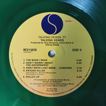 Talking Heads - Talking Heads: 77 (Green Vinyl Edition) [LP]