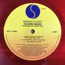 Talking Heads - Remain In Light (Red Vinyl) [LP]