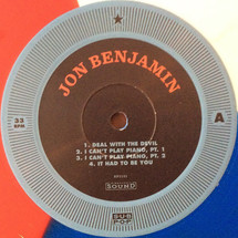"Jon Benjamin ""Jazz Daredevil"" - Well, I Should Have Learned How To Play Piano [LP]"
