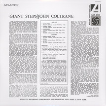 John Coltrane - Giant Steps (Mono Edition) [LP]