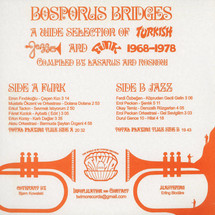 VA - Bosporus Bridges - A Wide Selection Of Turkish Jazz And Funk 1968-1978 [LP]