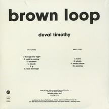 Duval Timothy - Brown Loop [LP]