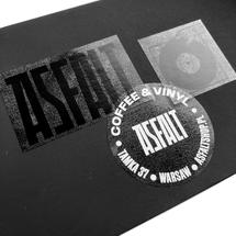 Naklejki by ASFALT  - Pakiet naklejek ASFALT logo II