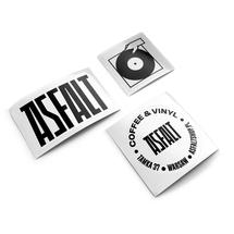 Naklejki by ASFALT  - Pakiet naklejek ASFALT logo [pakiet]