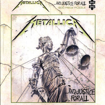 Metallica - ...And Justice For All (500 Piece Puzzle)