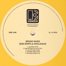 Bruno Mars - Doo-Wops & Hooligans (10th Year Anniversary) (Yellow Vinyl) [LP]