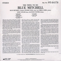 Blue Mitchell - The Thing To Do [LP]