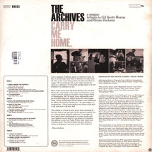 The Archives - Carry Me Home: A Reggae Tribute To Gil Scott Heron & Brian Jackson (2LP+MP3)