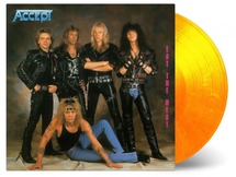 Accept - Eat The Heat (Flaming Vinyl)