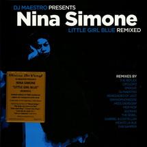Nina Simone / DJ Maestro - Little Girl Blue Remixed (Pink Vinyl)