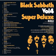 Black Sabbath - Vol. 4 (Super Deluxe Box Set) [5LP]
