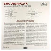 Ewa Demarczyk - Śpiewa Piosenki Zygmunta Koniecznego
