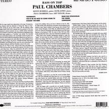 Paul Chambers - Bass On Top (Tone Poet)