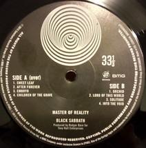 Black Sabbath - Master Of Reality [LP]