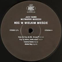 Jazz Band Młynarski-Masecki - Noc w wielkim mieście [LP]