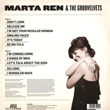 Marta Ren & The Groovelvets - Stop Look Listen (Colored Vinyl)