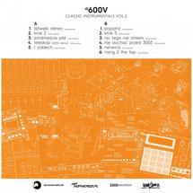 DJ 600 Volt - Classic Instrumentals Vol. 2 [LP]