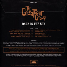 The Greg Foat Group / Greg Foat - Dark Is The Sun (LP + MP3)