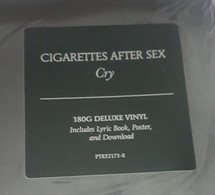 Cigarettes After Sex - Cry (Deluxe Version) [LP]