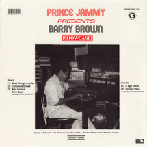 Prince Jammy / Barry Brown - Showcase (Limited Blue Marble Vinyl)