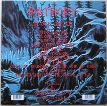 Bathory - Blood On Ice