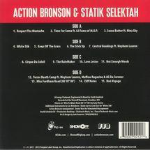 Action Bronson / Statik Selektah - Well-Done (Limited Orange/White Swirl Vinyl)