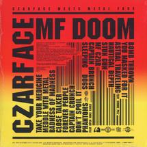 Czarface (Inspectah Deck & 7L & Esoteric) - Czarface Meets Metal Face  [LP]