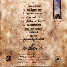 DJ Muggs The Black Goat - Dies Occidendum (Red Vinyl Edition)