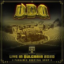 U.D.O. - Live in Bulgaria 2020 Pandemic Survival Show (Yellow Vinyl)