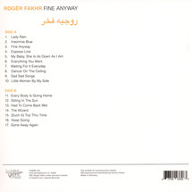 Roger Fakhr - Fine Anyway (LP+MP3)