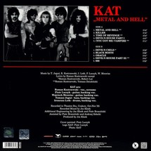 Kat - Metal And Hell (2019 Edition, Red Vinyl)