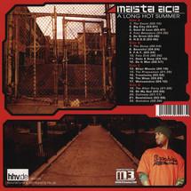 Masta Ace - A Long Hot Summer (Orange Vinyl Edition)