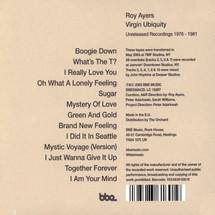 Roy Ayers - Virgin Ubiquity Unreleased Recordings 1976 - 1981
