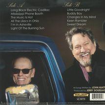 John Hiatt With The Jerry Douglas Band - Leftover Feelings (Blue Marbled Vinyl)