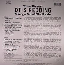 Otis Redding - Sings Soul Ballads