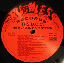 The D.O.C. - No One Can Do It Better (Black Vinyl) [LP]