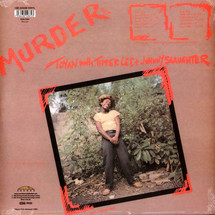 Toyan With Tipper Lee And Johnny Slaughte - Murder [LP]