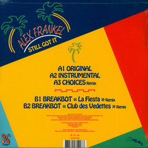 Alex Frankel / Holy Ghosts - Still Got It (Gatefold Cover)