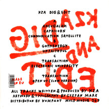 KZA - Dig And Edit