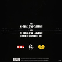 Texas & Wu-Tang Clan - Hi  (includes UNKLE remix) (RSD21)