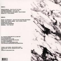 DJ Cam - Lost Found 2 (White+Black Marbled Vinyl Edition)