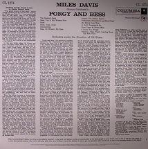 Miles Davis / Gil Evans - Porgy & Bess (Mono Edition)