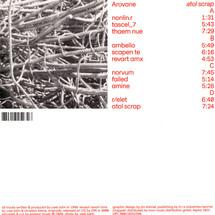 Arovane - Atol Scrap (Remastered Edition)