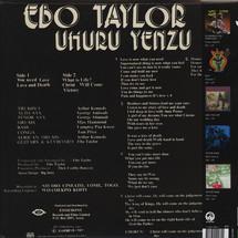 Ebo Taylor / Uhuru Yenzu - Conflict