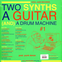 VA - Two Synths, A Guitar (And) A Drum Machine - Soul Jazz Records #1 Post Punk Dance (Colored Vinyl Edition)