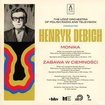 Henryk Debich - Monika / Zabawa w ciemności (Yellow Vinyl Edition)