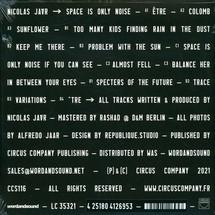 Nicolas Jaar - Space Is Only Noise (180g Clear Vinyl 2LP+MP3 / Gatefold Cover)