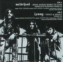 Motorhead - Iron Horse / Born To Lose (Silver Vinyl)